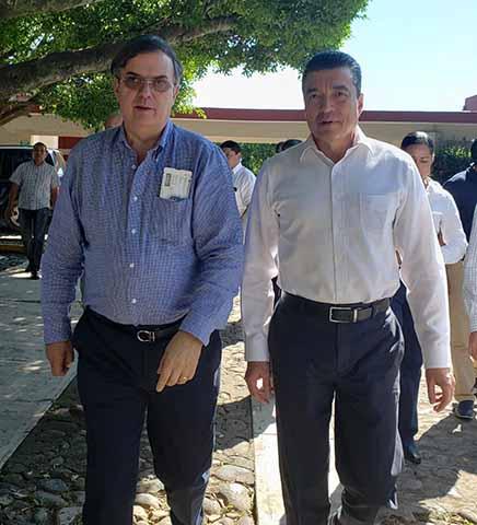 Rutilio Escandón Acompaña a Marcelo Ebrard en Viaje a China