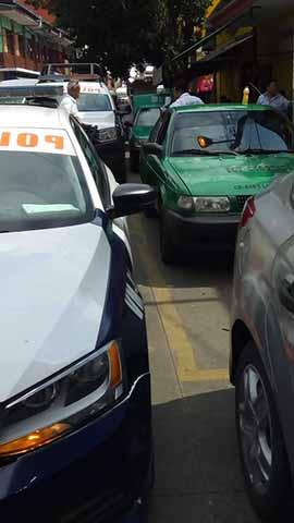 Transporte Local Exige Salida Urgente de Taxis Foráneos