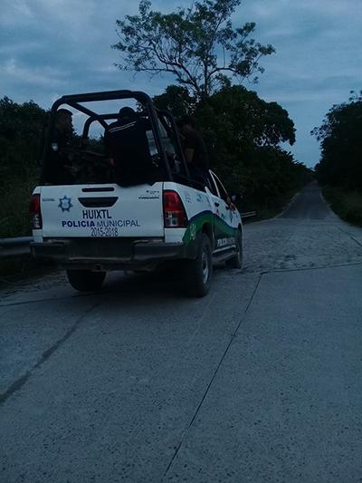 Siguen los Atropellos de la Policía Municipal en Huixtla