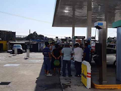 Venden Gasolina con Agua; en el Establecimiento de la 14ª Norte