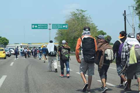 El Éxodo de Migrantes a Chiapas es Tema de Seguridad Nacional