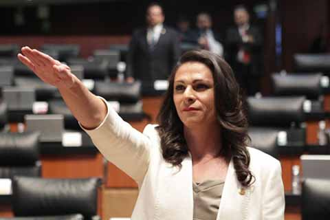Ana Gabriela Guevara Recibe de Forma Oficial la CONADE