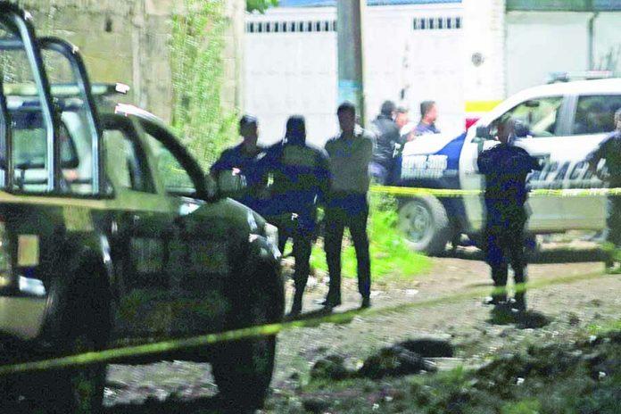 Disparó Contra Policías y Murió a Balazos