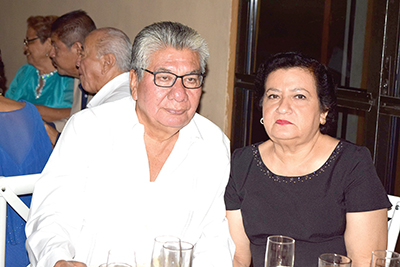 Luciano Rosales, Rebeca Cerdio.