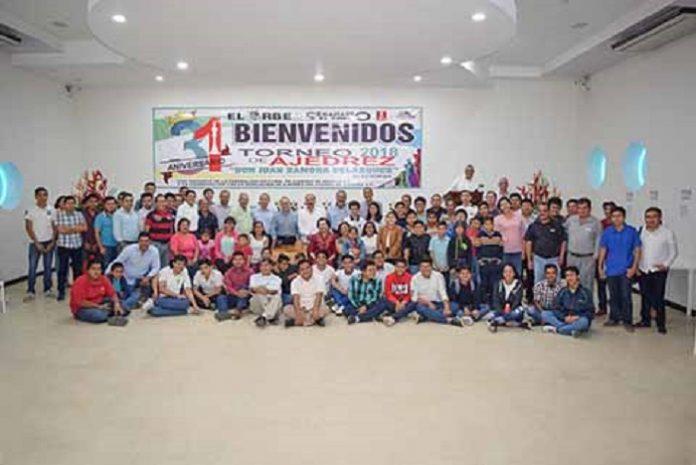Con la participación de 150 competidores en sus tres categorías, Infantil, Juvenil y Libre, arrancó el torneo de ajedrez, válido para rating nacional y que cuenta con la anuencia de la Federación Nacional de Ajedrez de México A.C. (FENAMAC), y la Asociación de Ajedrez del Estado de Chiapas (AAECHAC).