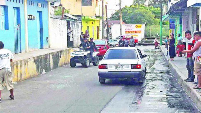 """Balacera Alrededor del Mercado """"San Juan"""""""