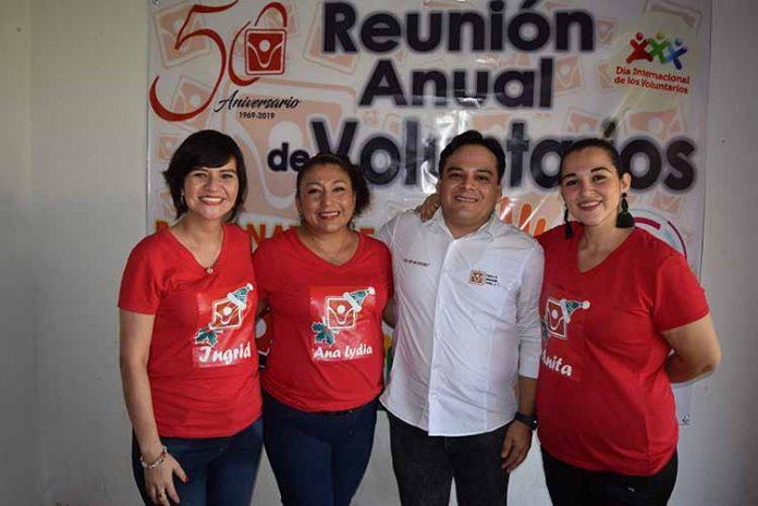 Ingrid Cueto, Ana Lydia Ovando, Miguel Mancera, Ana Gordillo.