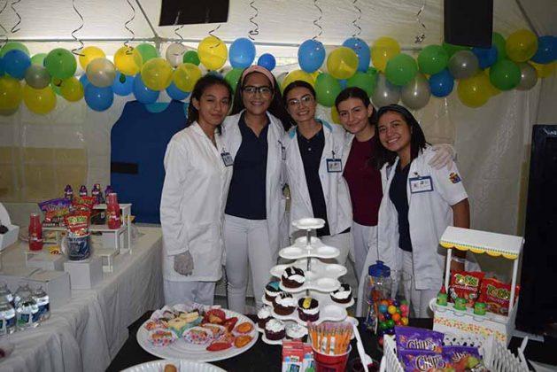 Yuling Reyes, Andrea Olvera, Michell Prats, Cassandra Casanova, Jeraldine Macal.