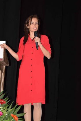 """Liceth Patricia Jiménez Montenegro, disertó la conferencia """"La elaboración de los dictámenes forenses""""."""