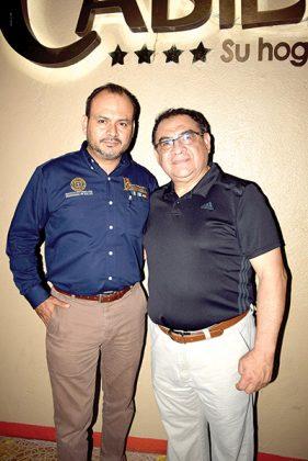 Julio Bustillo, Maynor Berganza.
