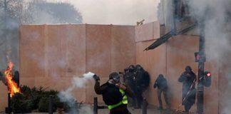 Reportan Jornada de Disturbios en Toda Francia por Aumento a los Combustibles
