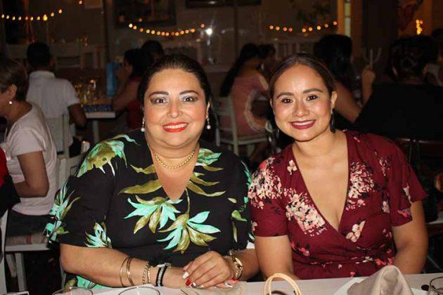 Denise López, Claudia Hernández.