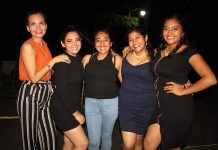 Yarlin Figueroa, Leslie Derbessy, Jessica García, Alejandra Miranda, Gabriela Pérez.