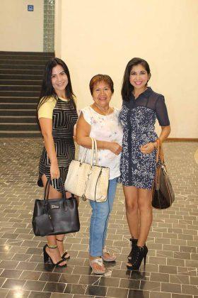 Aline, Karla, Margoth de Orella.