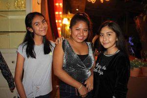 Jade Serna, Itzel Aguilar, Bianca Muñoz.