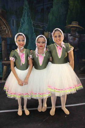 Yaretzi Villarreal, Patricia Alvarado, Camila Meza.