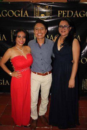 Jimena López, Miguel Colloy, Alejandra Castillejos.