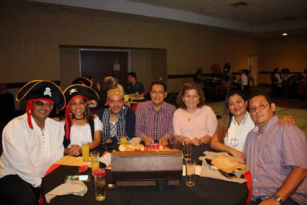 Marco Rosas, Amada Briones, Miguel García, Mario Ruiz Redondo, Norma Arellano, Alejandra, Juan Carlos Tort.