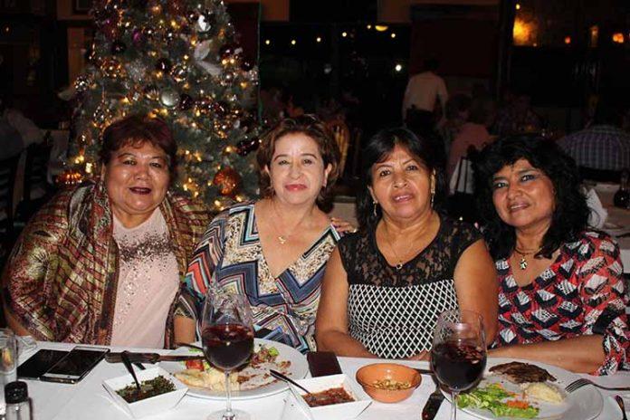 Marlene Olivera, Lupita Zapata, Miriam Escobar, Anita Palomeque.