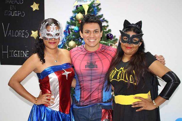 Diana Romero, Kevin Joseph, Itzi Cruz.
