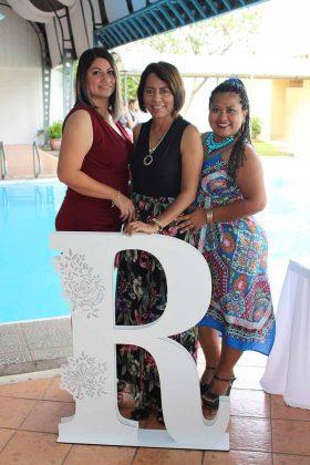 Tania Rosas, Ruth de la Cruz, Dayli Yazmín.