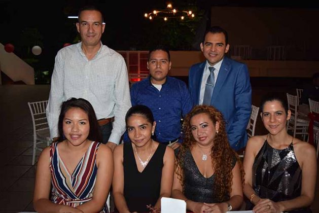 Pilar de la O, Roxana Domínguez, Yoana Hernández, Karen Pelayo, Bruno Calderón, Alberto Matías, Gerardo Vargas.