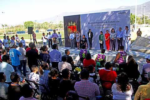 Exitoso Festival Deportivo de Exhibición