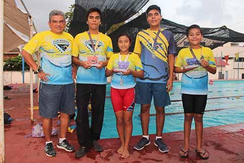 Tapachultecos Destacan en Triatlón Koila
