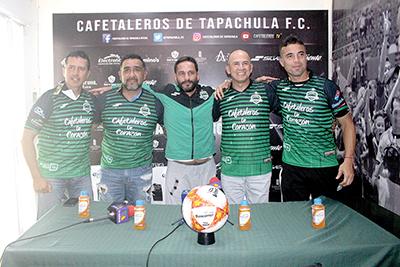 Cafetaleros Presenta a su Nuevo DT: Luis Fernando Soto