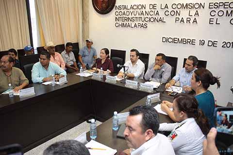 Instalan Comisión Especial Para Atender Caso Chimalapas