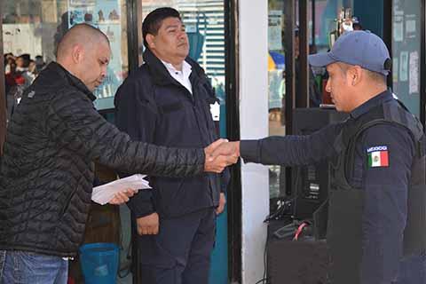Otorgan Incentivos a Policías por Destacada Labor al Servicio de la Ciudadanía en Motozintla