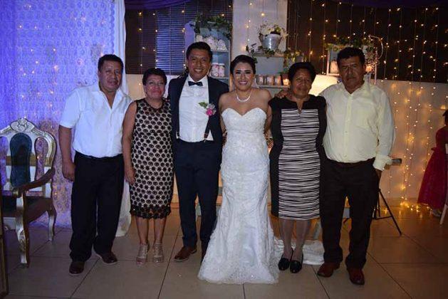Alfredo Hernández, Romelia Miguel, José Ignacio, Rocío de Jesús, Luisa Cruz Lázaro M´´endez.