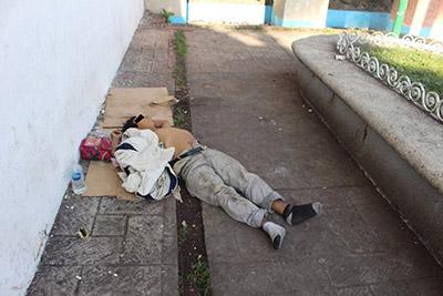 Muere en Calles del Centro