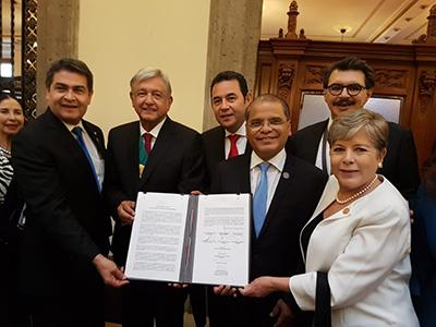 México y Centroamérica Acuerdan Plan de Desarrollo Para Combatir Migración