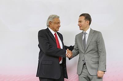 MVC Felicita a AMLO Tras Asumir la Presidencia de México