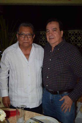 Carlos Murillo, Roberto García.