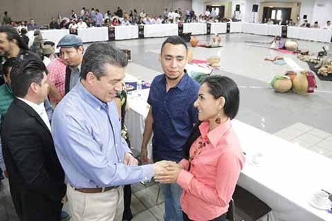 El gobernador electo Rutilio Escandón Cadenas, dio a conocer las actividades que se realizarán durante el primer día de actividades en este espacio cultural que será del pueblo.