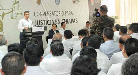 En Colaboración, Velaremos por la Aplicación de la Justicia, Destaca del Gobernador