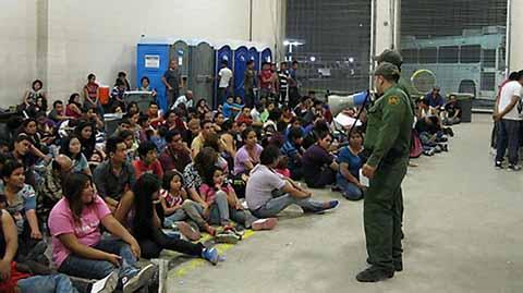 Más de 400 Migrantes Cruzan a Estados Unidos