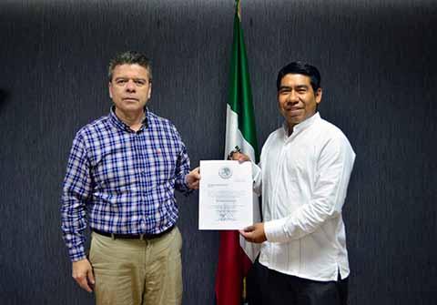 Andrés Pérez Martínez, Delegado Regional de la Secretaría General de Gobierno en Cintalapa de Figueroa.