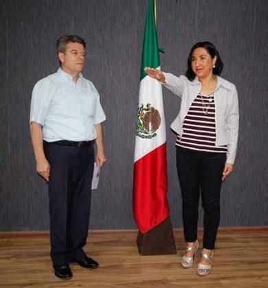 Angélica María Domínguez, Delegada Regional de la Secretaría General de Gobierno en San Cristóbal de Las Casas.