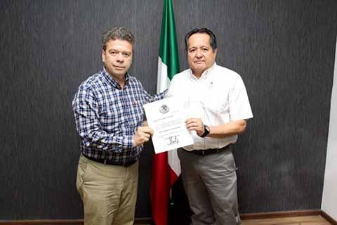 Carlos Albores Constantino, Director General del Colegio Nacional de Educación Profesional Técnica (Conalep)