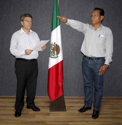 Francisco Javier Ovando Cruz, Director de Catastro Urbano y Rural.