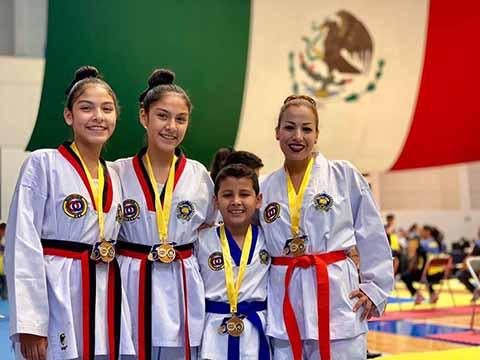 Familia Tapachulteca Gana 6 Medallas de Oro Para Chiapas