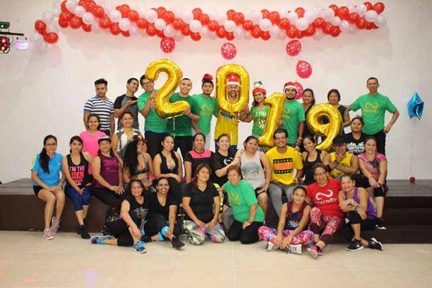 Con éxito se realizó la Master Class Navideña de Eternity Spa & Fitness, en el majestuoso Salón HC del Hotel Cabildo´s, impartida por el Zumba Jammer: Gerardo Hernández.