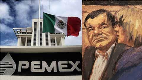 """""""El Chapo"""" Negoció con Pemex Trasiego Drogas"""
