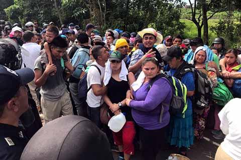 Exigen Regular Presencia de Migrantes en la Frontera