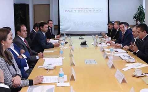 Gobernadores Respaldan Guardia Nacional y Estrategia de Seguridad