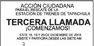TERCERA LLAMADA....