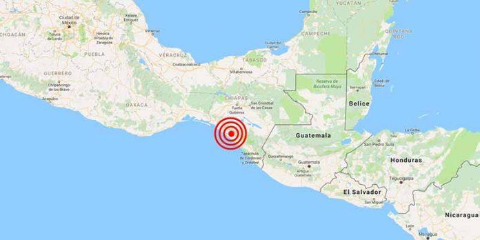 Pánico en Chiapas por Intenso Sismo de 5.2 Grados Richter